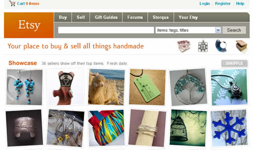 Etsy (Screenshot)