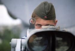Surveillance (Bild: Alexander Polyakov, RIA Novosti archive, image #827805 [CC-BY-SA-3.0], via Wikimedia Commons)