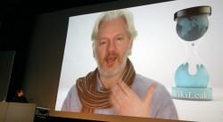 Julian Assange (Bild: Jakob Steinschaden)