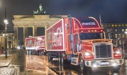 Auftakt zur Coca-Cola Weihnachtstour 2013 in Berlin