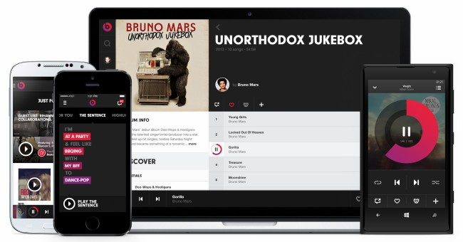 Musik Streaming Plattform Beats Music (Bild: Beats Music)