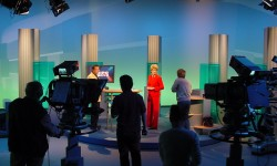 Sendung im MDR (Bild: Tilo Mittelstrass [CC BY-SA 3.0], via Flickr)