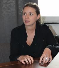 Nora Wohlert von EDITION F (Bild: Tobias Schwarz/Netzpiloten, CC BY 4.0)