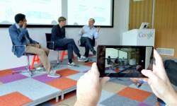 DFKI Google Tech-Talk mit Ben Gomes, Thomas Range und Hans Uszkoreit (Bild: a+o GmbH)