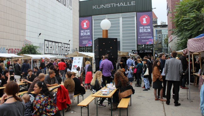 Crowdfunding-Festival One Spark in Berlin (Bild: Tobias Schwarz-Netzpiloten, CC BY 4.0)