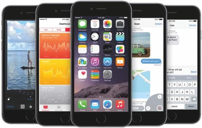 iOS 8 auf dem iPhone