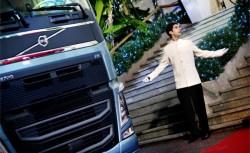 Inspelning av Volvo reklamfilm i San Remo