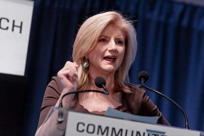 Arianna Huffington (Bild: Communitech Photos [CC BY-SA 2.0], via Flickr)