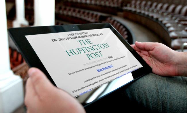Huffington Post Deutschland (Bild: t3n)