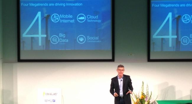 Christian Illek, Deutschland-Chef von Microsoft (Bild: Phiipp Biel)