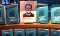 Malte Spitz auf der Buchmesse (Bild: Christina zur Nedden)