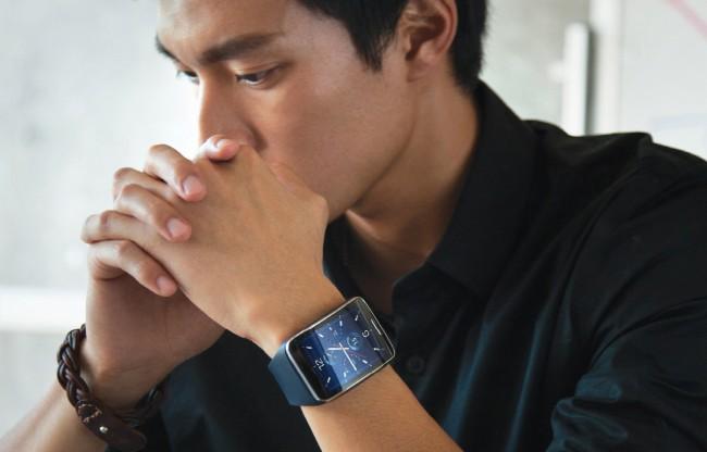 Samsung Gear S (Bild: SamsungTomorrow [CC BY-NC-SA 2.0], via Flickr)