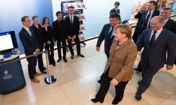 Software Campus und Bundeskanzlerin Angela Merkel (Bild: Daniel Reinhardt))
