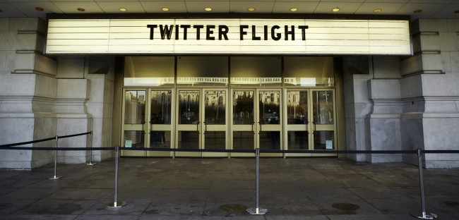 Twitter Flight (Bild: Twitter, CC BY-NC-SA 2.0)