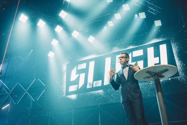 Finnlands Ministerpräsident Alexander Stubb auf der Slush (Bild: Sami Välikangas)