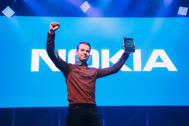 Sebastian Nyström, Head of Products Business bei Nokias, auf der Slush (Bild: Jussi Hellsten)