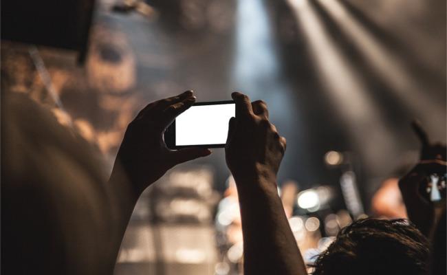 concert, Konzert, smartphone, aufnahme
