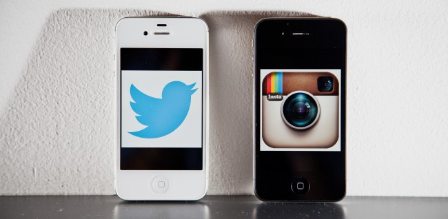 Twitter und Instagram (Bild: Ariel Zambelich/Wired, CC BY-NC 3.0)