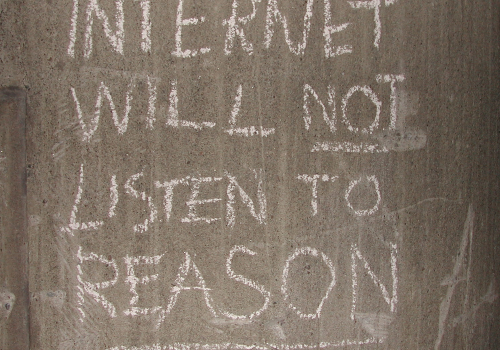 INTERNET STATEMENT (adapted) (Image by altemark [CC BY 2.0] via Flickr)