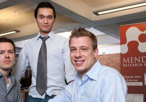 Mendeley Founders (adapted) (Image by Team Mendeley [CC BY 2.0] via Flickr)