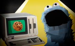 Krümelmonster, Internet, PC, Keks