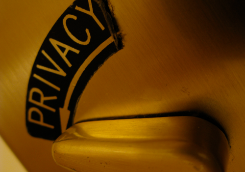 Privacy (adapted) (Image by Rob Pongsajapan [CC BY 2.0] via Flickr)