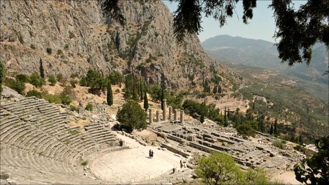 Arena des Orakel von Delphi (Bild: photogon [CC BY-NC 2.0] via flickr)