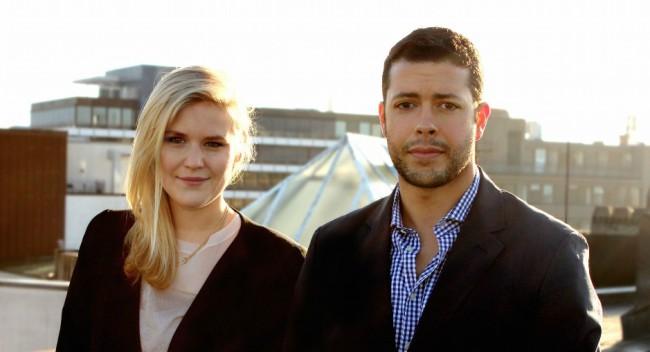 Fiona Brandes und Max Fielker (Bild: PayOrShare)
