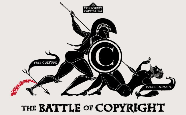 The Battle Of Copyright (Image: Christopher Dombres [CC BY 2.0], via Wikimedia Commons)