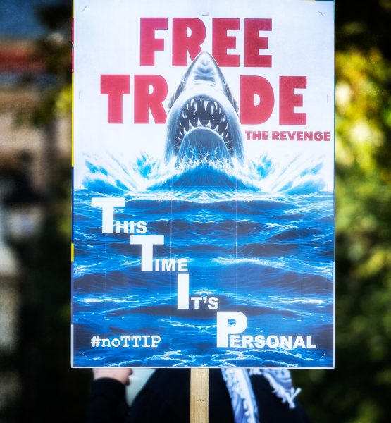 Anti-TTIP Protest 11-10-2014 - 09 (adapted) (Image by Garry Knight [CC BY 2.0] via Flickr)