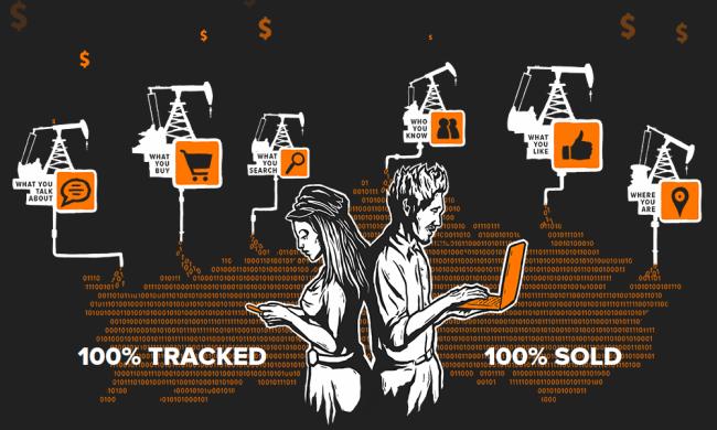 Nutzer sind Produzenten der Handelsware Daten,ohne davon finanziell zu profitieren