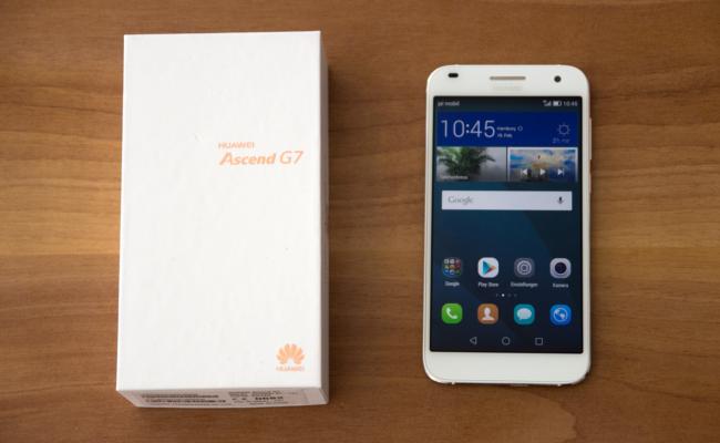 Das Huawei Ascend G7 (Bild: Alexandra von Heyl/Netzpiloten, CC BY 4.0)