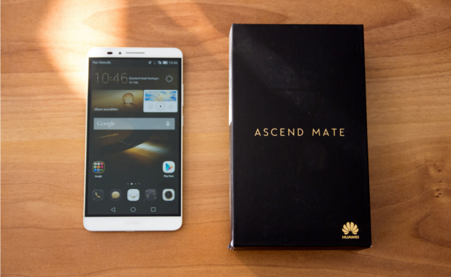 Das Huawei Ascend Mate 7 (Bild: Alexandra von Heyl/Netzpiloten, CC BY 4.0)