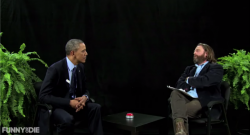 Obama Between two ferns (Bild: Screenshot, via YouTube)