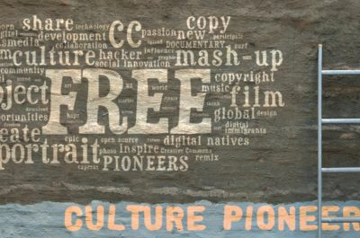 Open source free culture creative commons culture pioneers (adapted) (Image by Sweet Chili Arts [CC BY-SA 2.0] via Flickr)