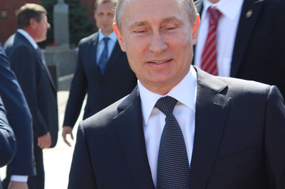 Putin (adapted) (Image by klimkin [CC0 Public Domain] via Pixabay)
