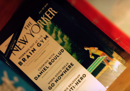 The New Yorker (adapted) (Image by Esther Vargas [CC BY-SA 2.0] via Flickr)