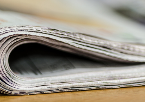 Zeitung (adapted) (Image by Andrys [CC0 Public Domain] via Pixabay)