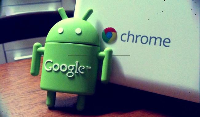 Android und Chrome OS von Google (Image: Sungmin Yun [CC BY-SA 2.0], via Flickr)