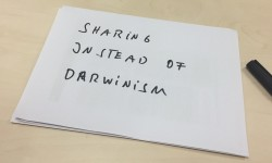 Sharing instead of Darwinism (Image: Ole Wintermann)