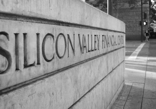 Silicon Valley Financial Center (adapted) (Image by Christian Rondeau [CC BY 2.0] via flickr)