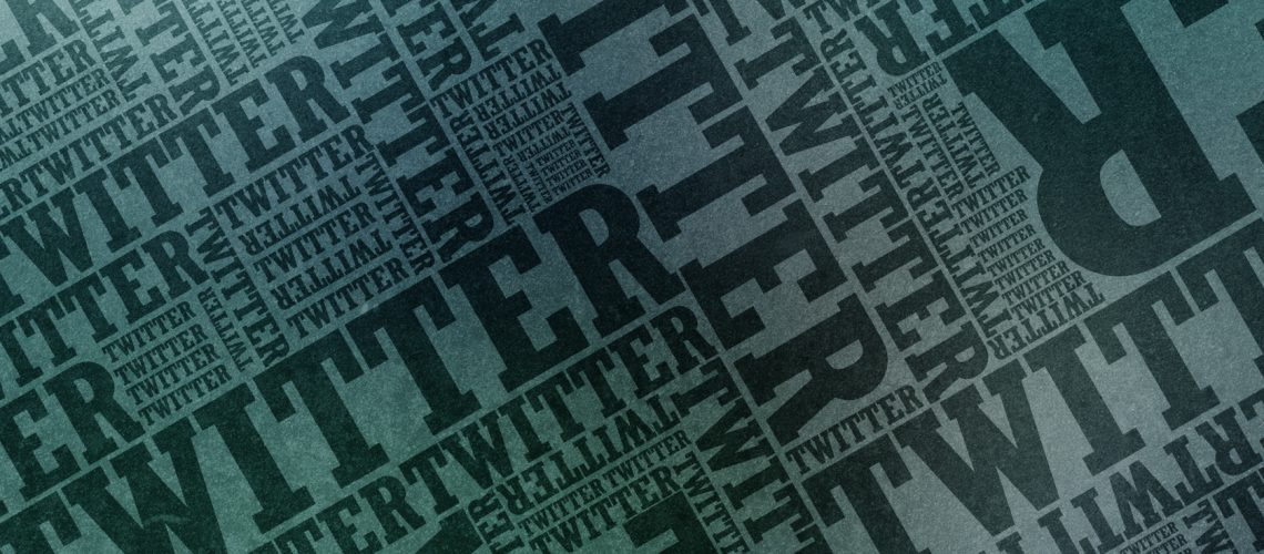 Twitter typographic wallpaper (adapted) (Image by Jennie [CC BY-SA 2.0] via Flickr)