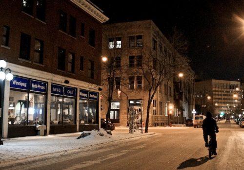 Winnipeg Free Press News Café (adapted) (Image by AJ Batac [CC BY 2.0] via Flickr)