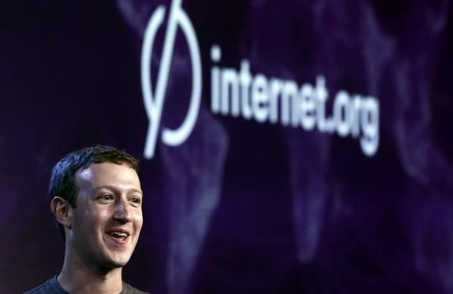 Mark Zuckerberg auf dem Summit von Internet.org