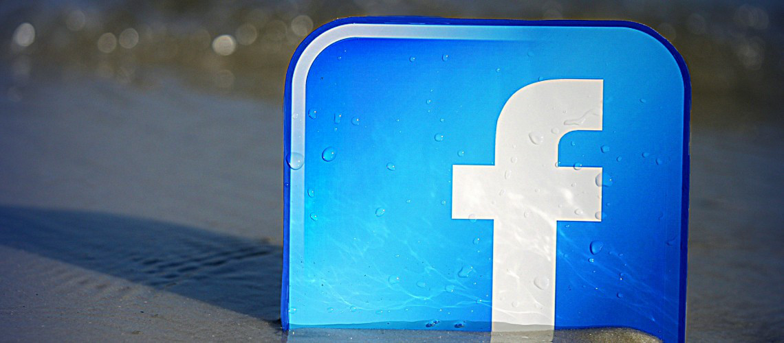 Facebook Beachfront (adapted) (Image by mkhmarketing [CC BY 2.0] via Flickr)