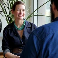 Linda Kozlowski, Vizepräsidentin von Evernote (Bild: Mirko Lux/Netzpiloten, CC BY 4.0)