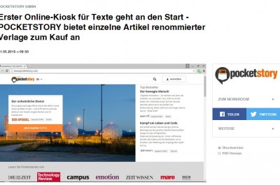 POCKETSTORY-Screenshot (Bild by obs/POCKETSTORY GmbH via Presseportal)