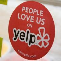 Yelp Sticker (Image: John Fischer [CC BY 2.0], via Flickr)