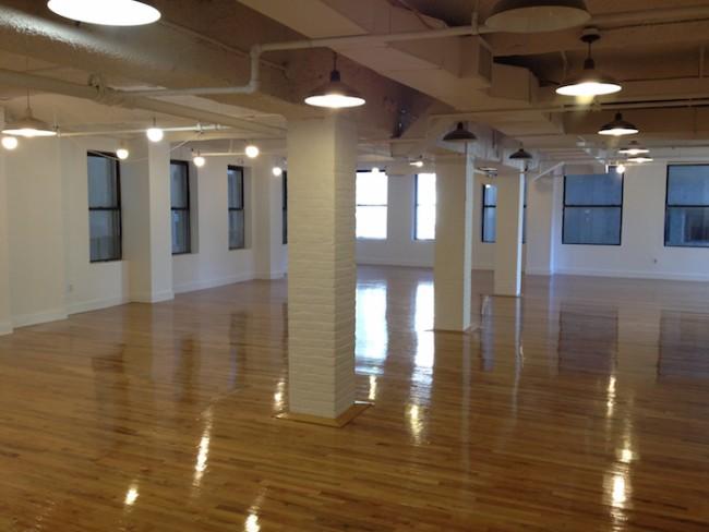 Das noch leere Quartz-Büro im New Yorker Stadtteil SoHo im Jahr 2012 (Image: Kevin Delaney)