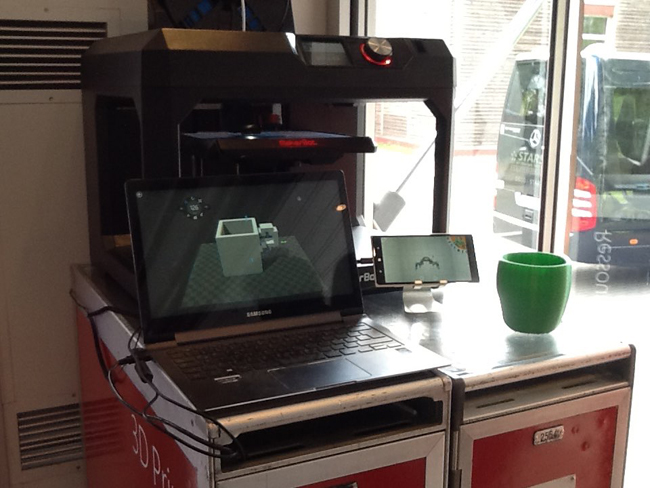 3D-Drucker (Bild: Anja C. Wagner)